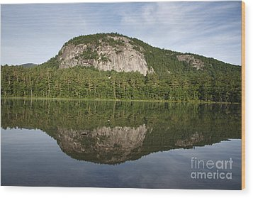 Echo Lake State Park - North Conway  New Hampshire Usa Wood Print by Erin Paul Donovan