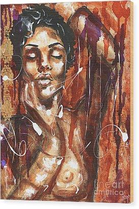 Ecstacy Wood Print