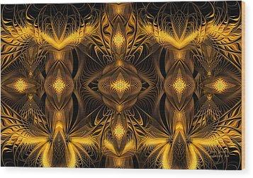 Eden Wood Print by Gayle Odsather