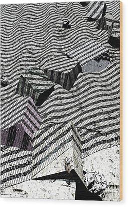Edge Wood Print by Haruo Obana