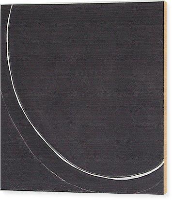 edge IV Wood Print by Carol Reed