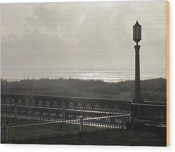 Edgewater Wood Print by Gregory Smith