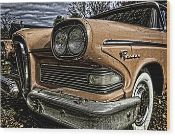 Edsel Ford's Namesake Wood Print