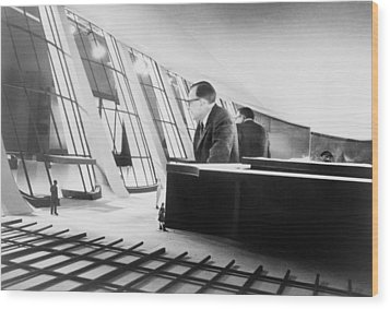 Eero Saarinen 1910-1961, Finish Wood Print by Everett