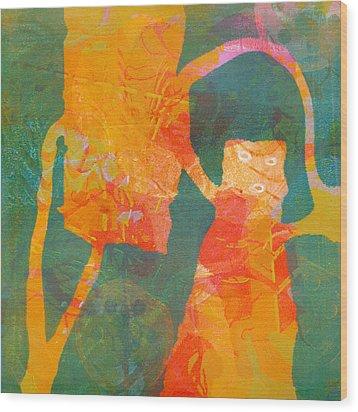 Eevy Ivy Over Wood Print