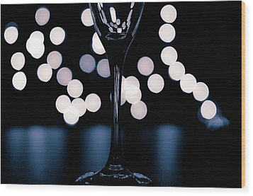 Wood Print featuring the photograph Effervescence II by David Sutton