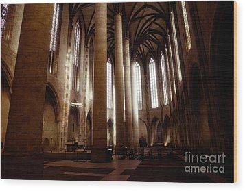 Eglise Des Jacobins, Toulouse Wood Print by Cendrine Marrouat