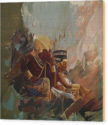 Egyptian Culture 44b Wood Print