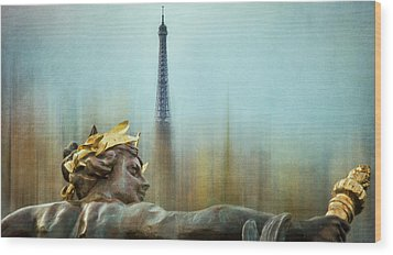 Eiffel Tower 1 Wood Print