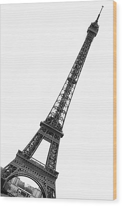 Eiffel Tower Wood Print by Marion McCristall
