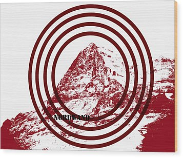 Eiger Nordwand Wood Print