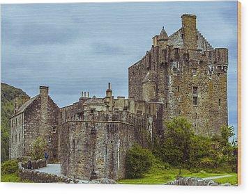 Wood Print featuring the photograph Eilean Donan Castle II by Steven Ainsworth