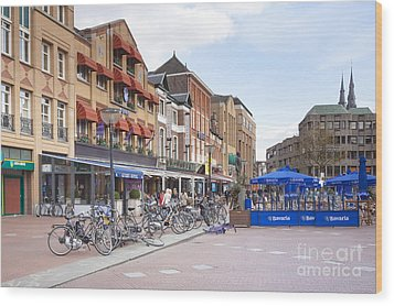 Eindhoven Wood Print by Andre Goncalves