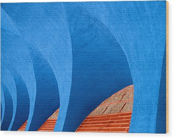 Ekklisia Wood Print by Paul Wear