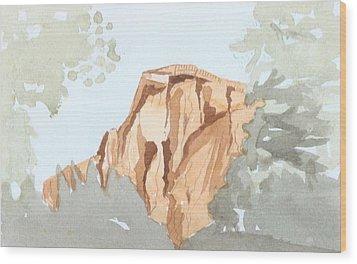 El Capitan Wood Print by Jim Green