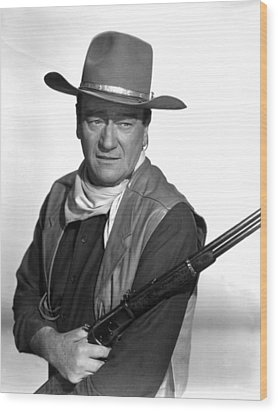 El Dorado, John Wayne,  1966 Wood Print by Everett