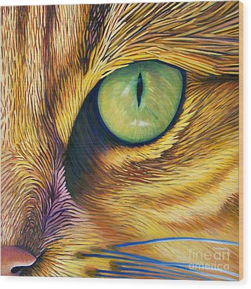 El Gato Wood Print