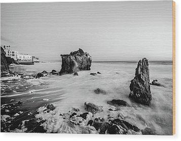 El Matador State Beach Wood Print
