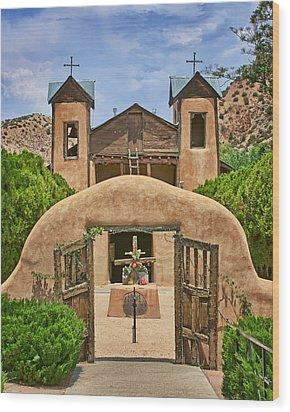 El Santuario De Chimayo #2 Wood Print by Nikolyn McDonald