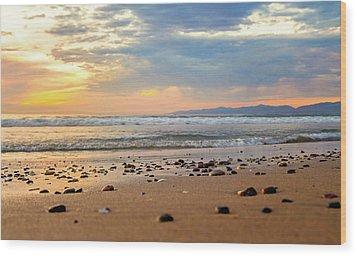 Wood Print featuring the photograph El Segundo Beach by April Reppucci