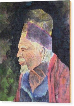 Elder Wood Print by Susan Kubes