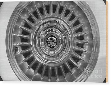 Wood Print featuring the photograph Eldorado Monotone by Dennis Hedberg