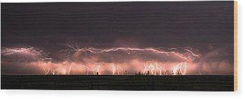 Electric Panoramic IIi Wood Print