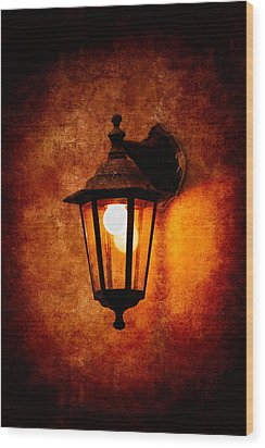 Wood Print featuring the photograph Electrical Light by Alexander Senin