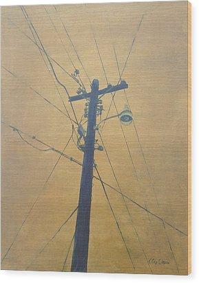 Electrified Wood Print
