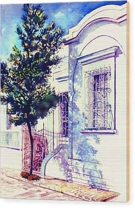 Elegance And Modesty Wood Print by Estela Robles