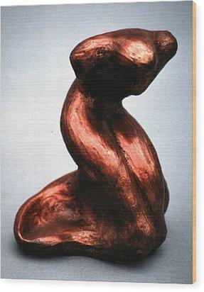Elegance Wood Print by Lonnie Tapia