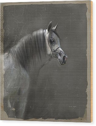 Elegance  Wood Print by Dorota Kudyba