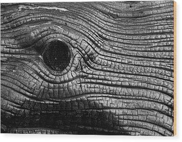 Elephant's Eye Wood Print