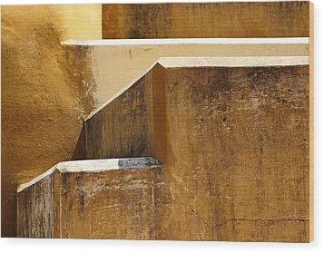 Elevate Wood Print by Prakash Ghai