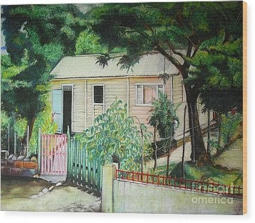 Elida House Wood Print