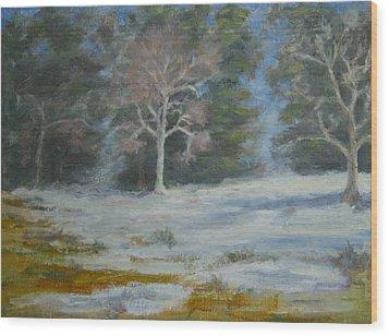 Elizabeth Park Wood Print