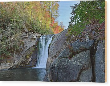 Elk River Falls Wood Print