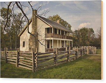 Elkhorn Tavern Wood Print by Lana Trussell