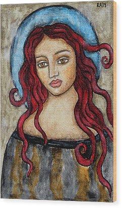 Eloise Wood Print by Rain Ririn