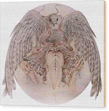 Elthia Wood Print by Johanna Pieterman