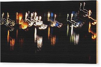 Wood Print featuring the photograph Eltic by Cyryn Fyrcyd