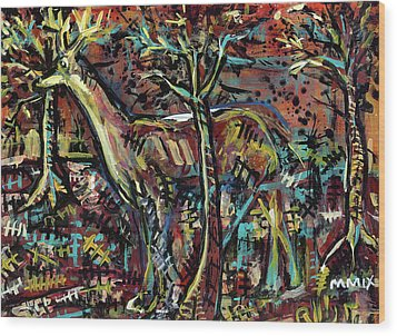 Elusive Wood Print by Robert Wolverton Jr