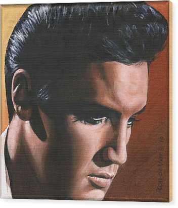 Elvis 24 1963 Wood Print by Rob de Vries