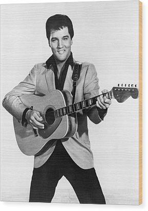 Elvis Presley, C. Mid-1960s Wood Print by Everett