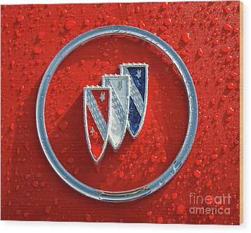 Wood Print featuring the photograph Emblem by Dennis Hedberg