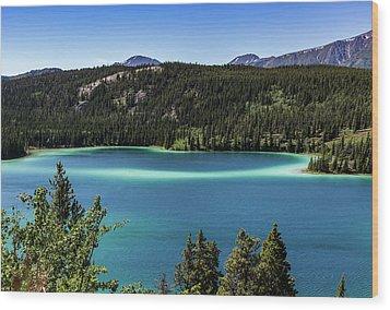 Emerald Lake 2 Wood Print