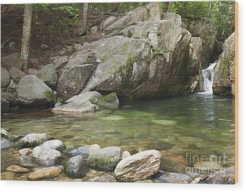 Emerald Pool - White Mountains New Hampshire Usa Wood Print by Erin Paul Donovan