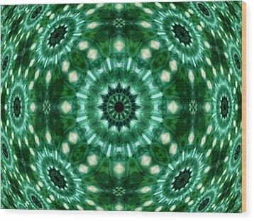 Emerald  Wood Print by Thomas  MacPherson Jr