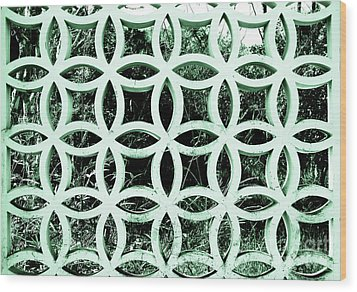 Wood Print featuring the photograph Emerald Window 2 Angeloff J by Joy Angeloff
