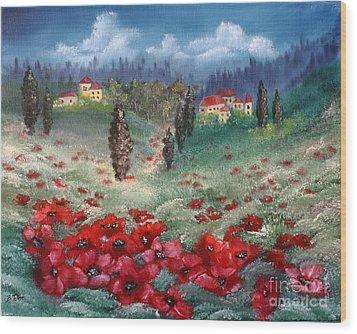 Emilia Romagna Wood Print